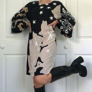 Hawaiian Print Gogo Dress